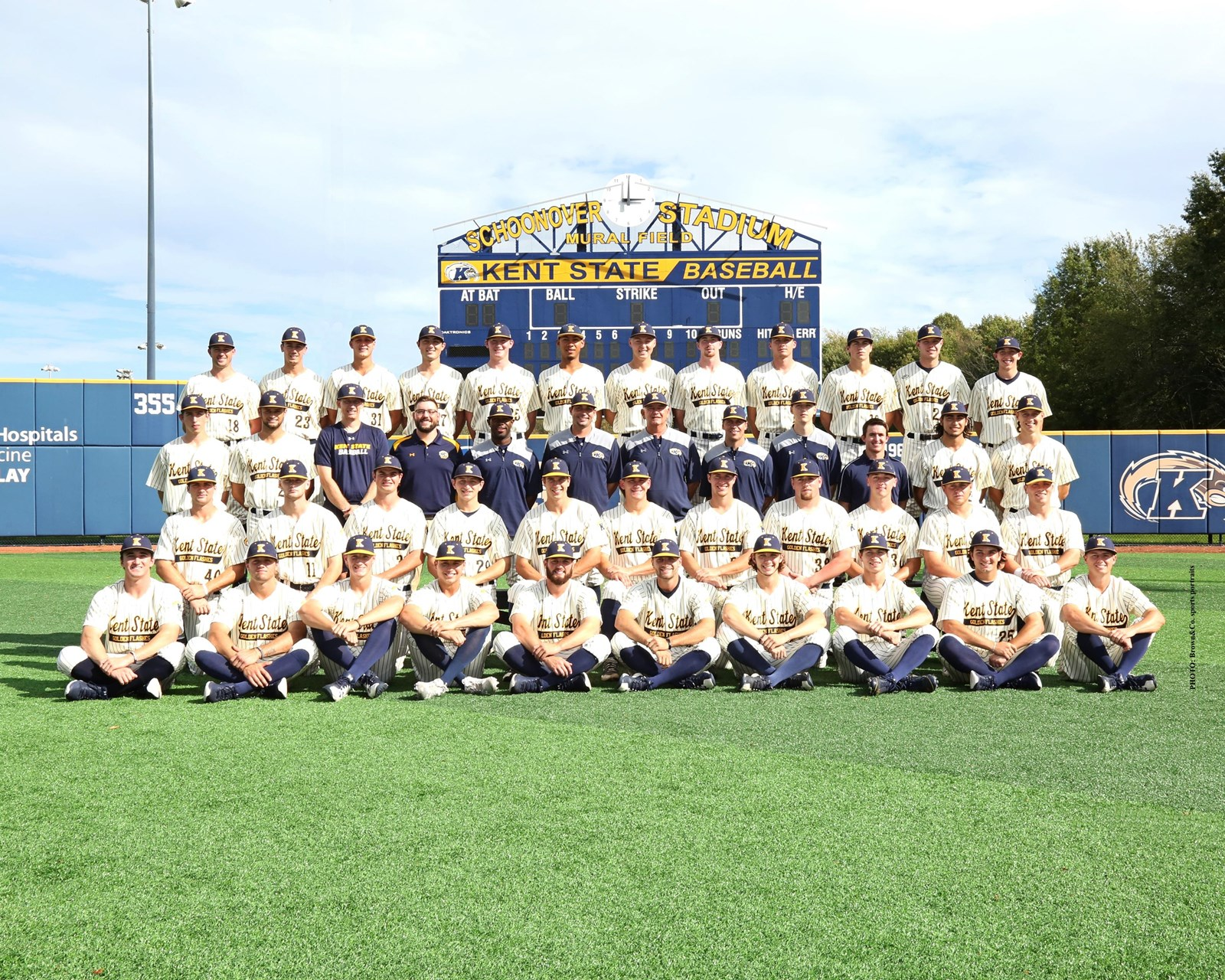 2019 Baseball Roster Kent State University Athletics