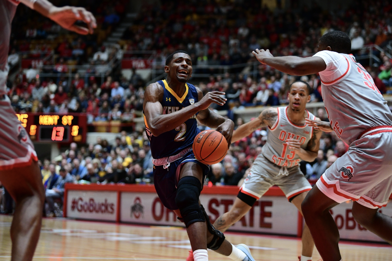 Flashes Second Half Run Not Enough Against Buckeyes Kent